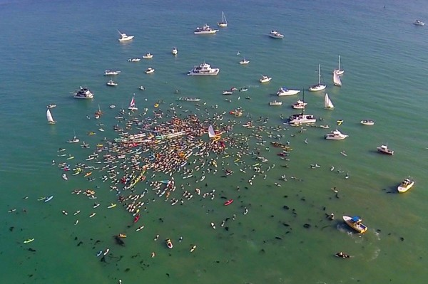 Hobie paddle out
