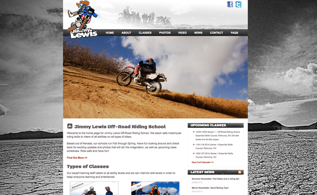 Jimmy Lewis Off-Road
