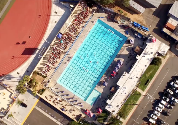 Aerial Waterpolo Photo by SDA Creative